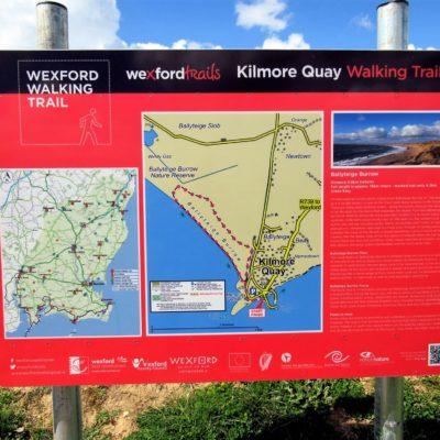 402 Kilmore Quay Walking Trail sign