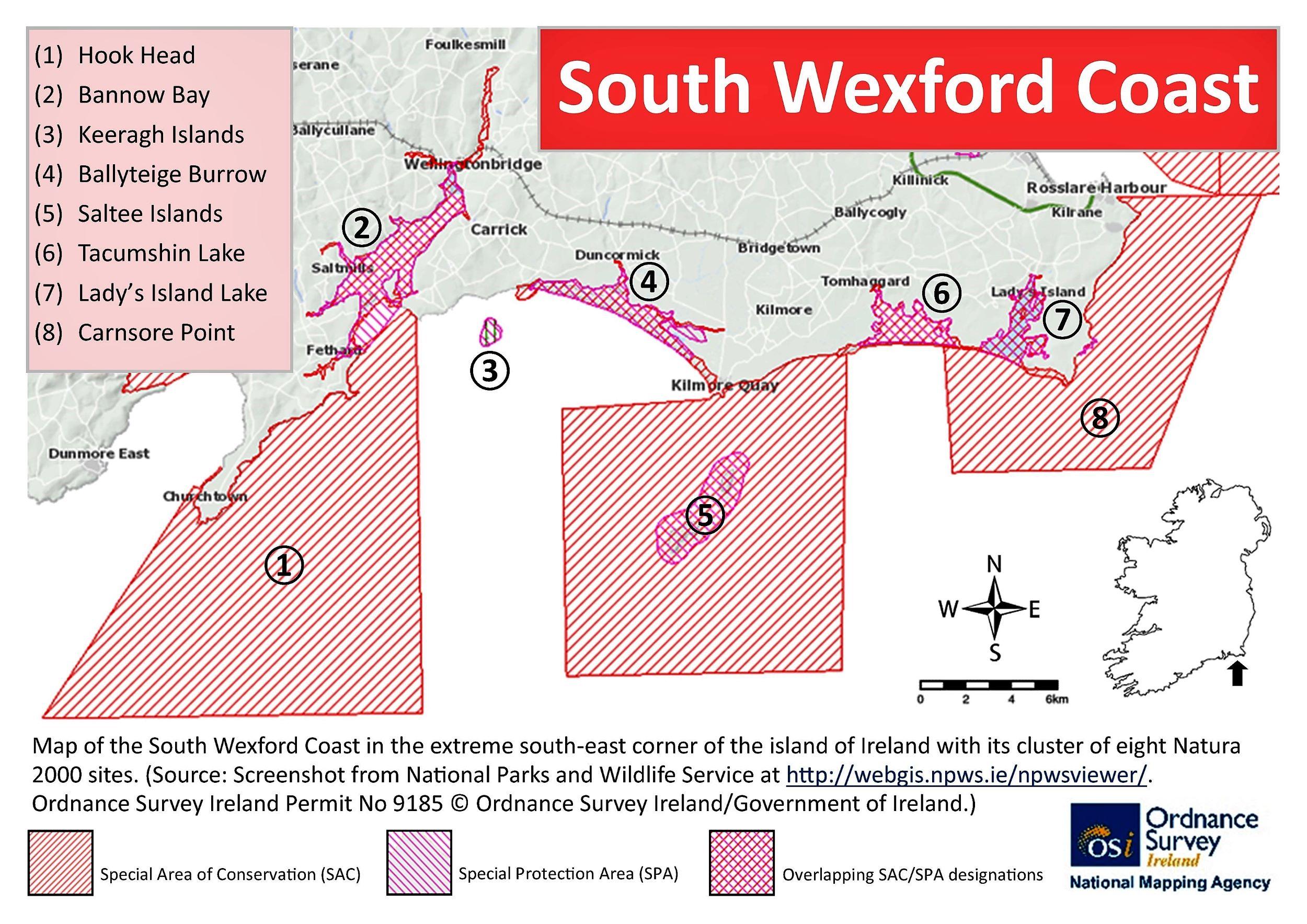SWC map